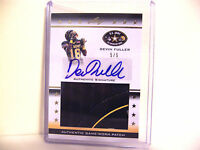 DEVIN FULLER 2012 Leaf US Army 5/5 Auto UCLA Patch Rookie Autograph  FREE SHIP