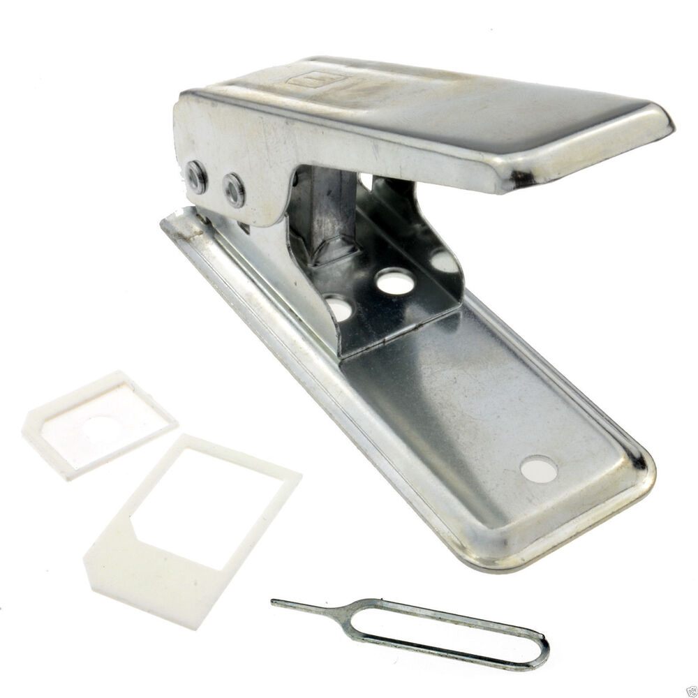 nano sim cutter converts sim cards to micro or nano card with guides ebay. Black Bedroom Furniture Sets. Home Design Ideas