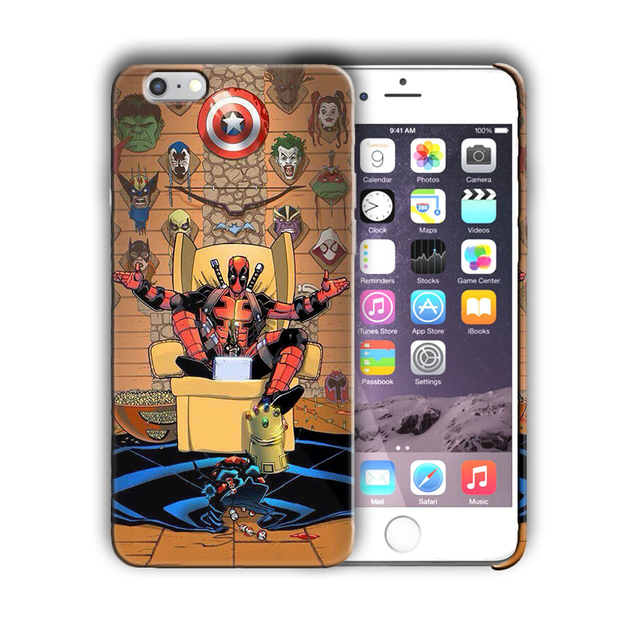 phone covers iphone 6 deadpool iphone 4 4s 5 5s 5c se 6 6s 7 8 x 8274