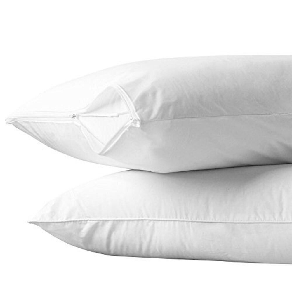 Super Fine Dust Mite And Allergy Control Zippered Pillow