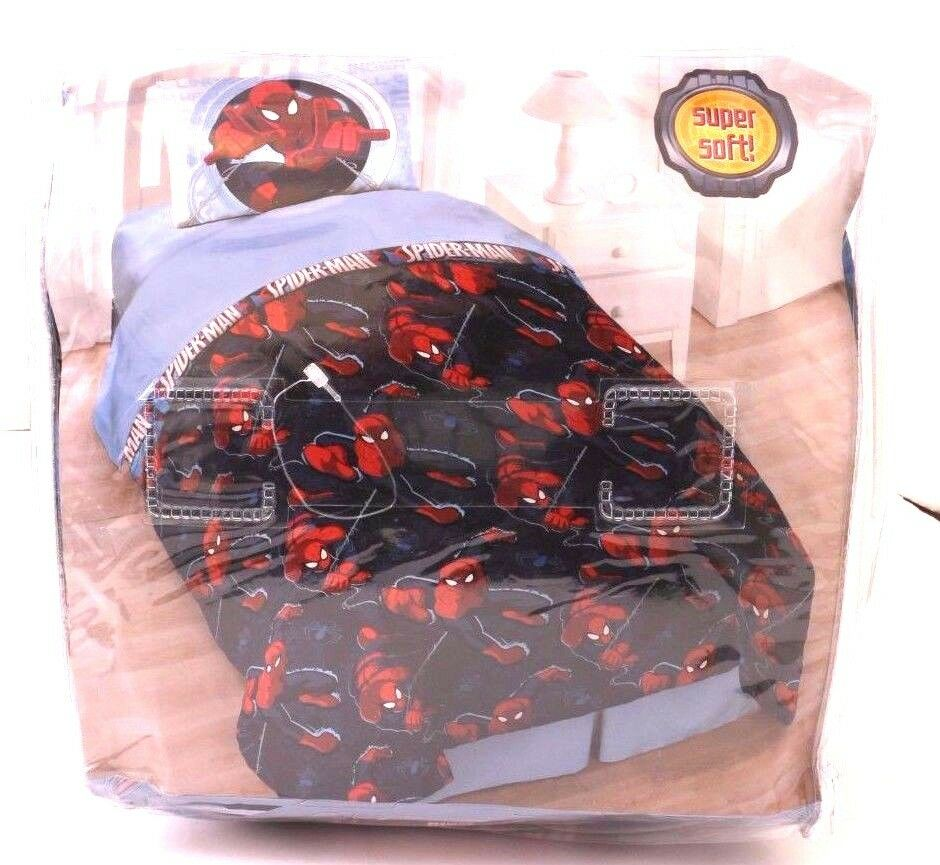 Spiderman and friends bedding - Marvel Spider Man Twin Comforter And Sham Set Super Soft Nwt