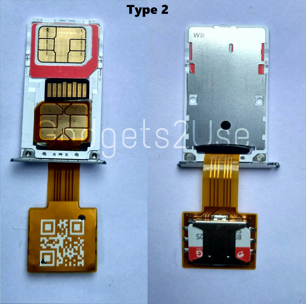 hybrid double dual sim card micro sd adapter extender nano sim adapter 4pc pack ebay. Black Bedroom Furniture Sets. Home Design Ideas