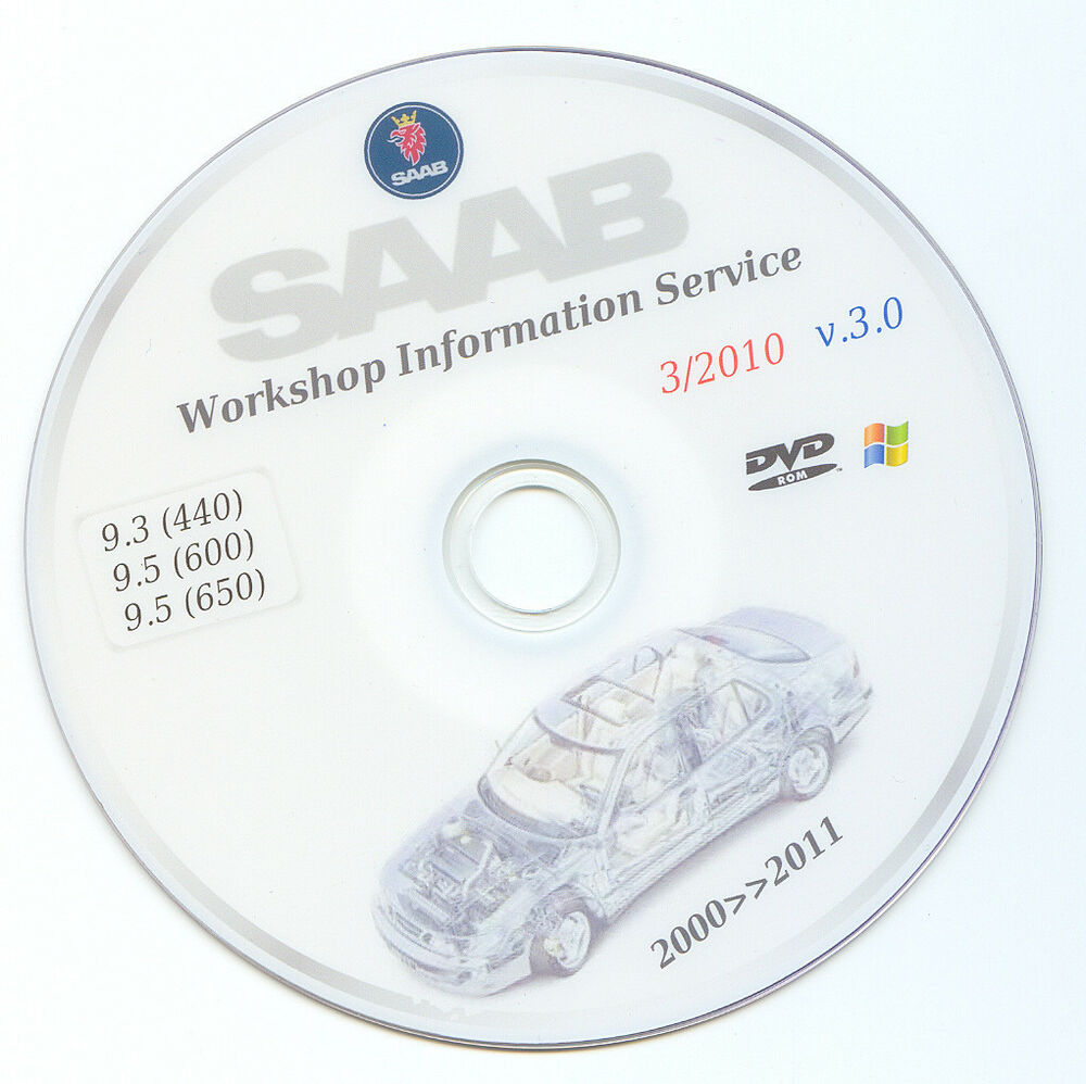 Saab 9 3 9 5 wis workshop service manual repair guide 1998 2011 ebay