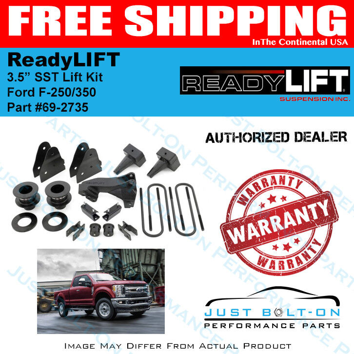 Ford F 350 Drive Shaft Parts : Readylift quot sst lift kit piece drive shaft