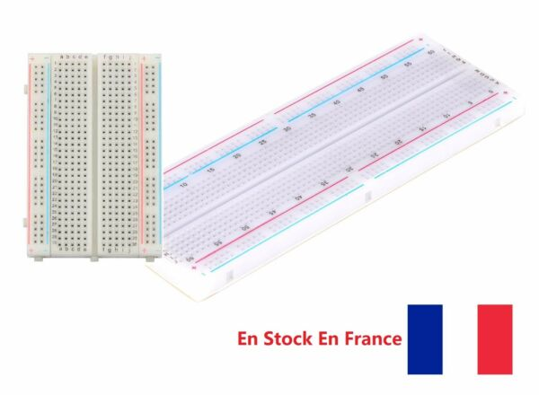 400/830 points Plaque d'essais Prototype Breadboard PCB Arduino Raspberry DIY