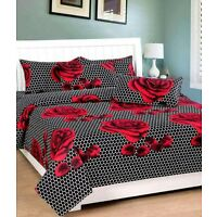 Homefab Cotton Double BedSheet