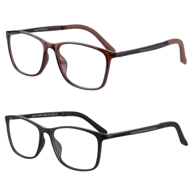 095fabb08f53 Details about Progressive Multifocal Reading Glasses Spring Hinge Stylish  Readers 2 Pairs