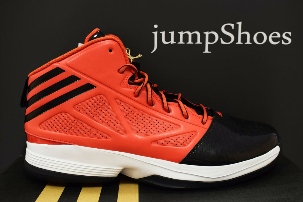 check out 3ba5d 083ae Details about adidas Mad Handle 2 basketball shoes red black white mens  sneakers NEW C75577
