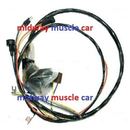 engine wiring harness with hei 70 chevy nova ss 307 350 396 427 ebay. Black Bedroom Furniture Sets. Home Design Ideas