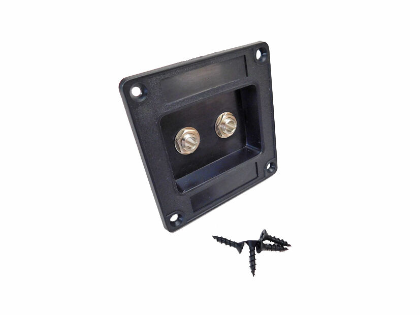 Recessed Dish Speaker Cabinet Jack Plate Two Switchcraft