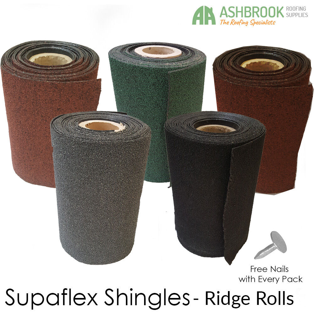 Roofing Felt Shingles Roll Out Ridge Roll Shed Roof