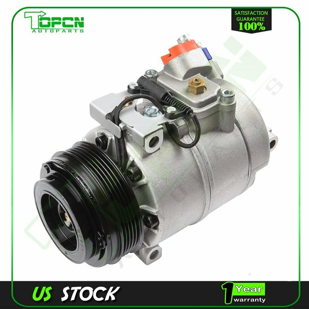 A C Compressor 97 11 Fits Bmw 330ci 525i 528i 530i 540i 740i M3 M5 2005 Timing Belt X3 Z8 04 688209048216 Ebay