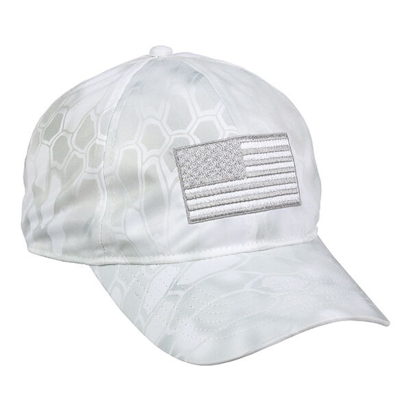 9822781e65a Details about Kryptek Yeti Hat USA Flag Outdoor Cap New With Tags  Unstructured Low Profile