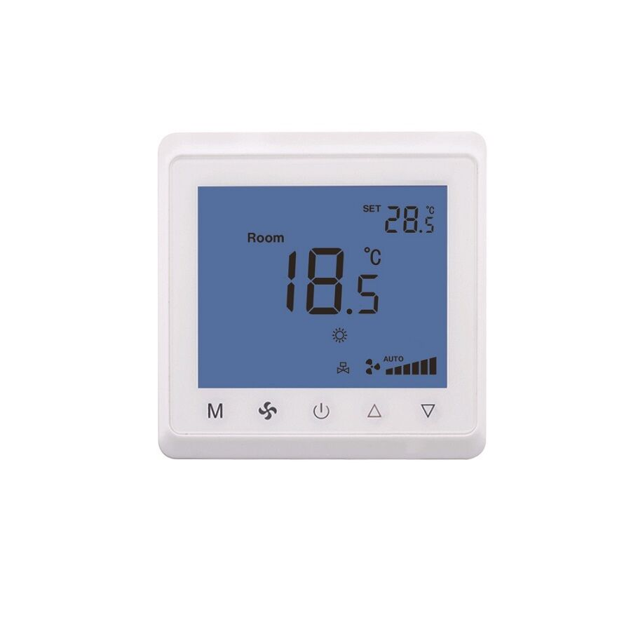 raumthermostat lcd thermostat touchscreen t905 f r heizung luft klima heizl fter ebay. Black Bedroom Furniture Sets. Home Design Ideas