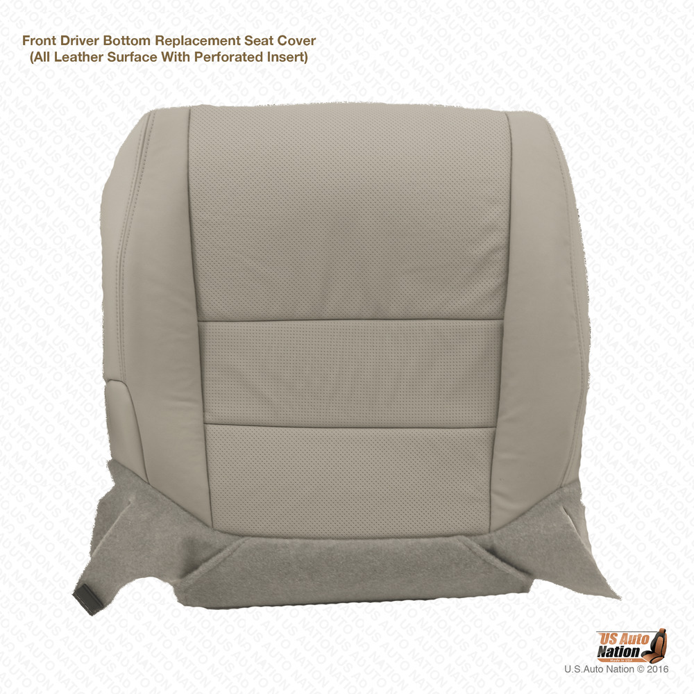 Lariat Driver Bottom Replacement Leather Seat Cushion Cover Tan Ebay