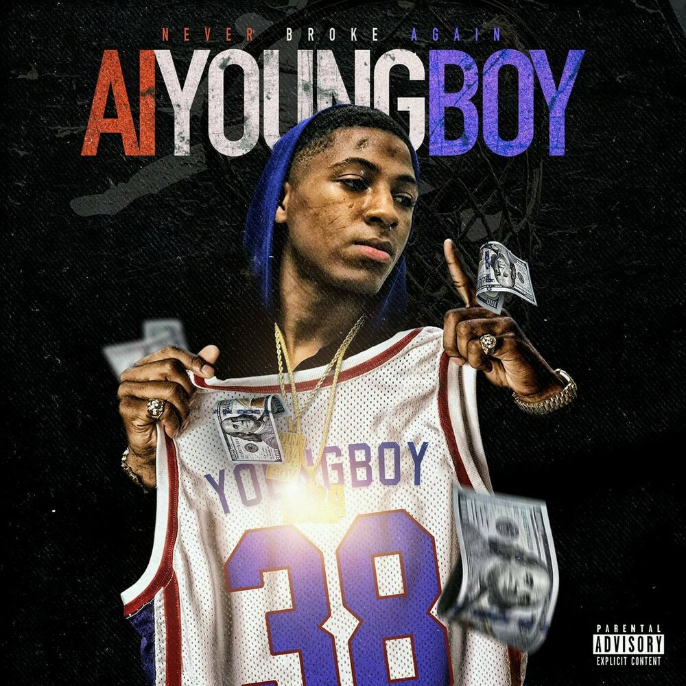 NBA AI Youngboy Never Broke Again New Album Art Cover