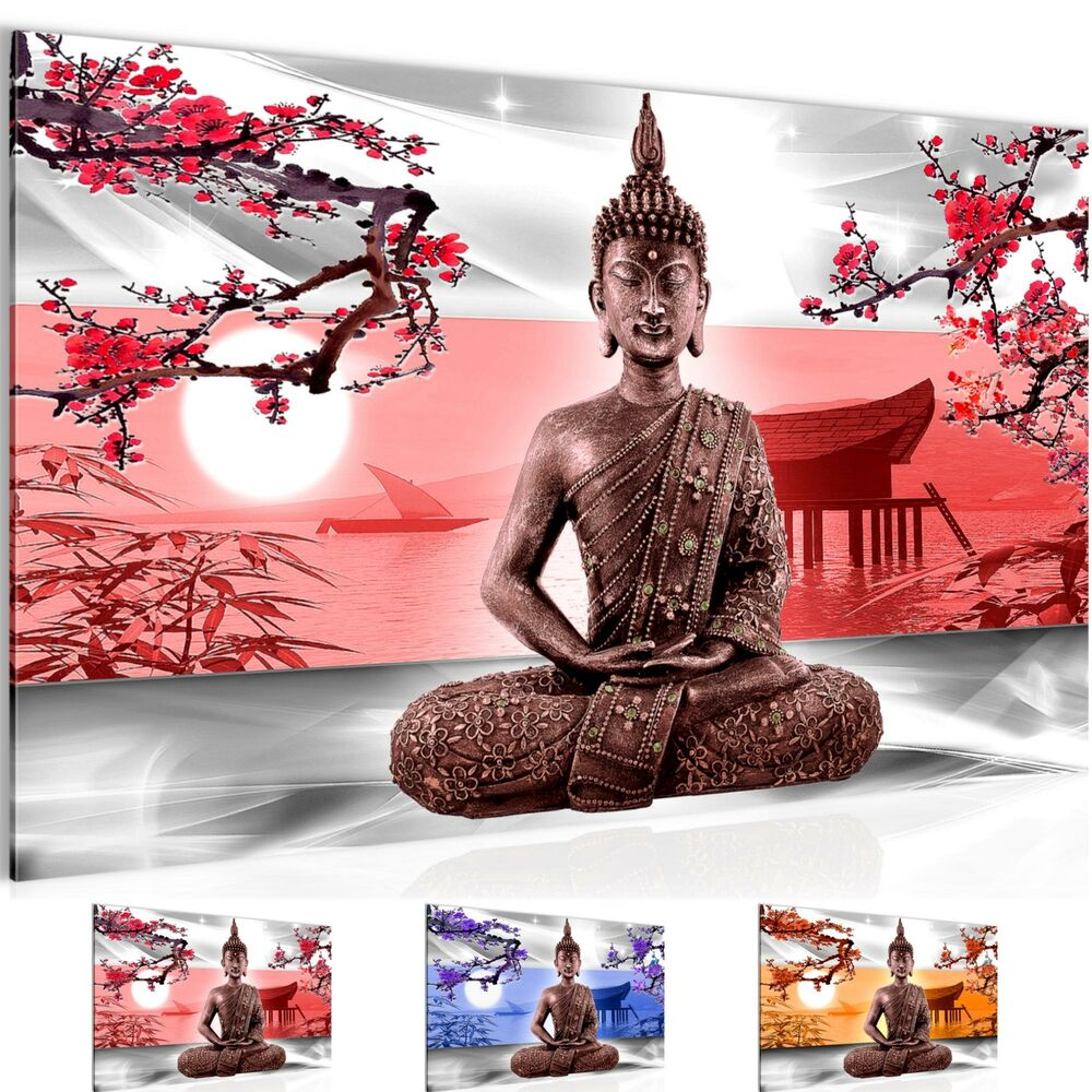 wandbilder xxl bilder buddha feng shui vlies leinwand bild kunstdruck 504914p ebay. Black Bedroom Furniture Sets. Home Design Ideas