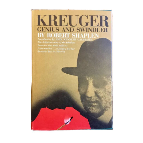first-edition-krueger-genius-and-swindler-fine-in-dust-jacket