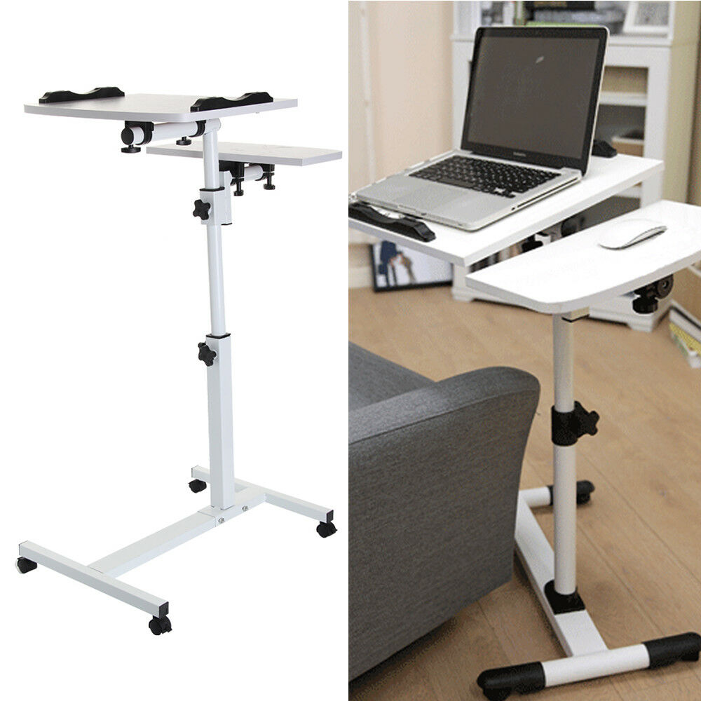 Adjustable Portable Laptop Desk Lazy Table Stand Lap Sofa ...