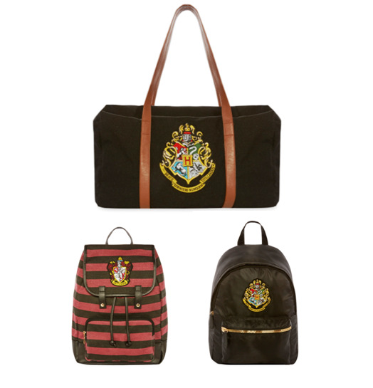 harry potter bag rucksack duffle gryffindor hogwarts house. Black Bedroom Furniture Sets. Home Design Ideas