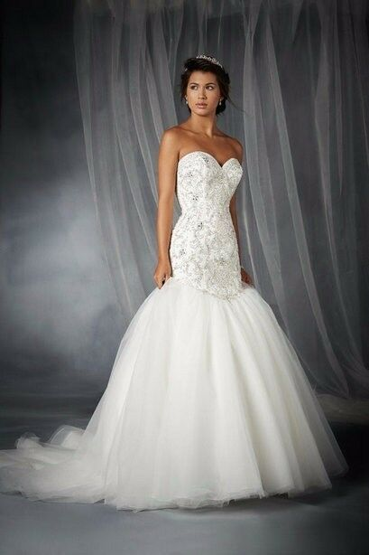 Brand new alfred angelo wedding dress style 249 ariel for Disney style wedding dresses