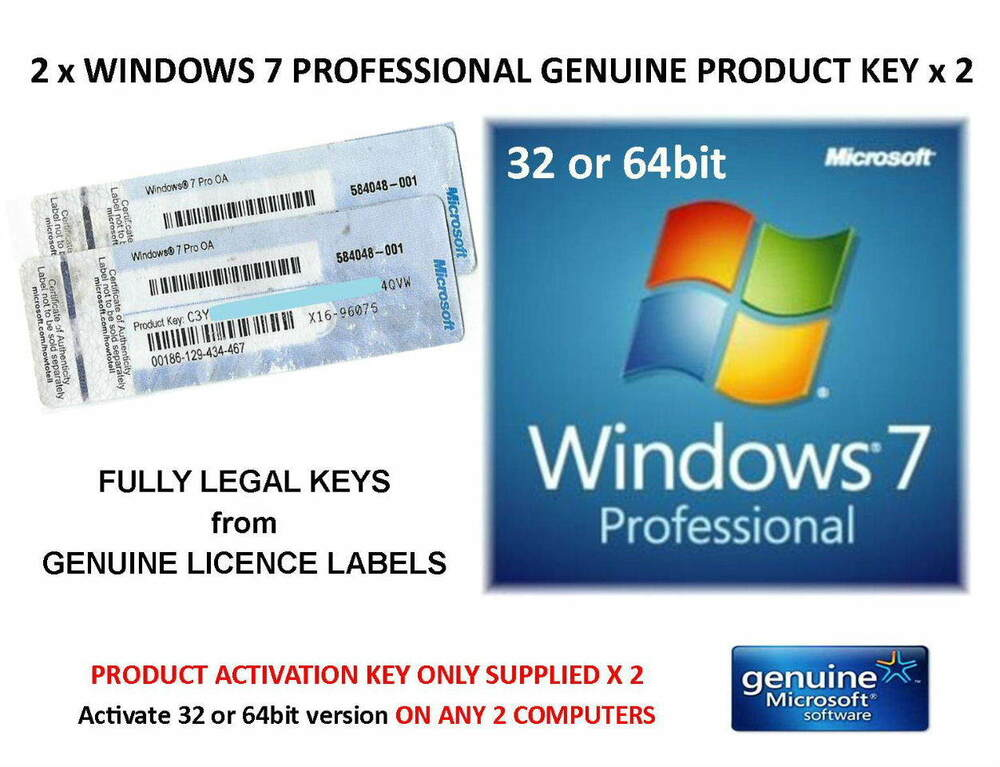 product key windows 7 32 bit professional