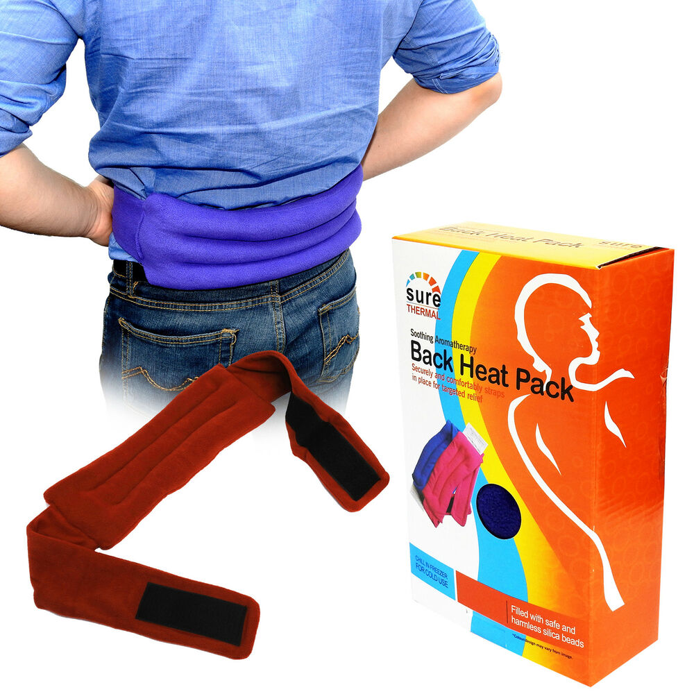 Sure Thermal Heat Pack Belt, Lower Back Pain Relieve ...