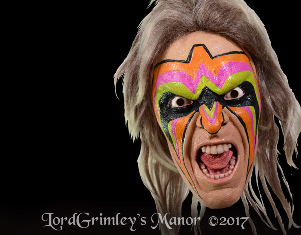 New 2017 Officially Licensed WWE Ultimate Warrior ...