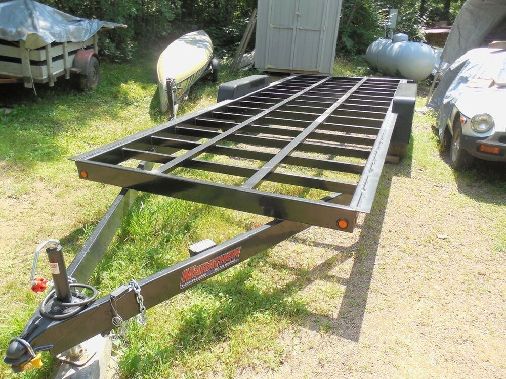 Tiny house trailer frame 20 ft tandem axle 6000lb axles for How to build a tiny house on a trailer
