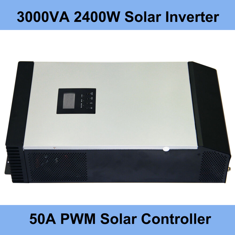 3kva Pure Sine Wave Solar Inverter Built In 50a Charge Wavedc Sign Wavesine Diagrampwm Inverterpure Controller Pwm 721361735171 Ebay