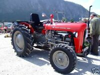 Massey Ferguson FE-35 Tractor Manual on CD