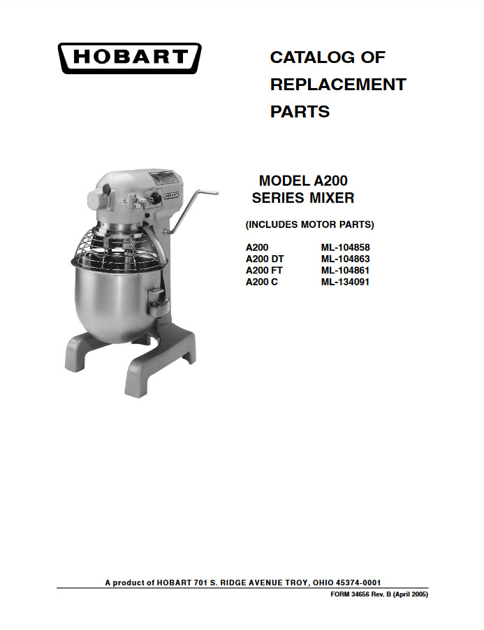 Hobart Spare Parts Email   Kayamotor.co on