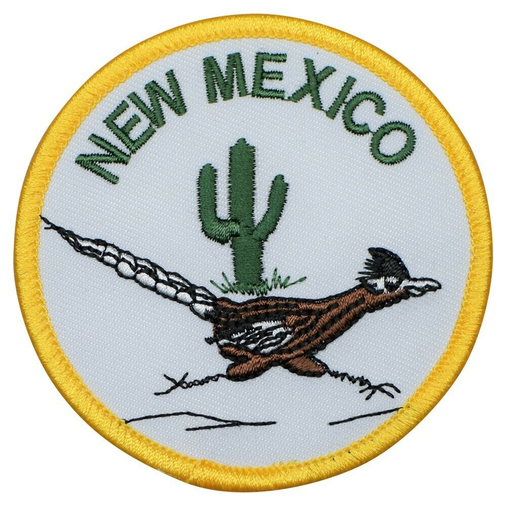 NM Iron on New Mexico Patch