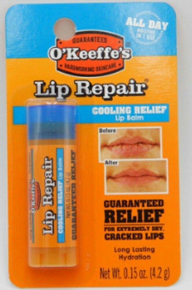 Lip Balm Lip Repair Cooling Relief by O'Keeffe's #4