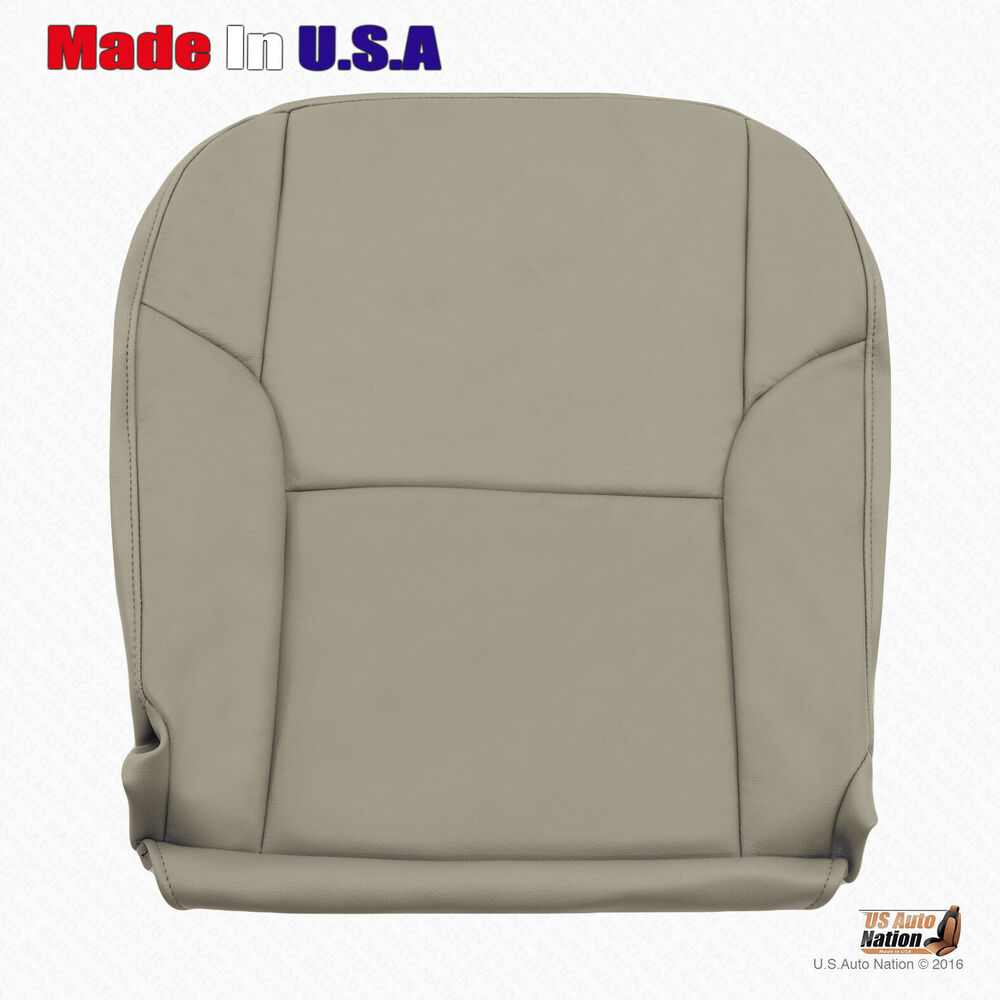 Driver Bottom Vinyl Seat Cover Color Tan Fits 2003 2004