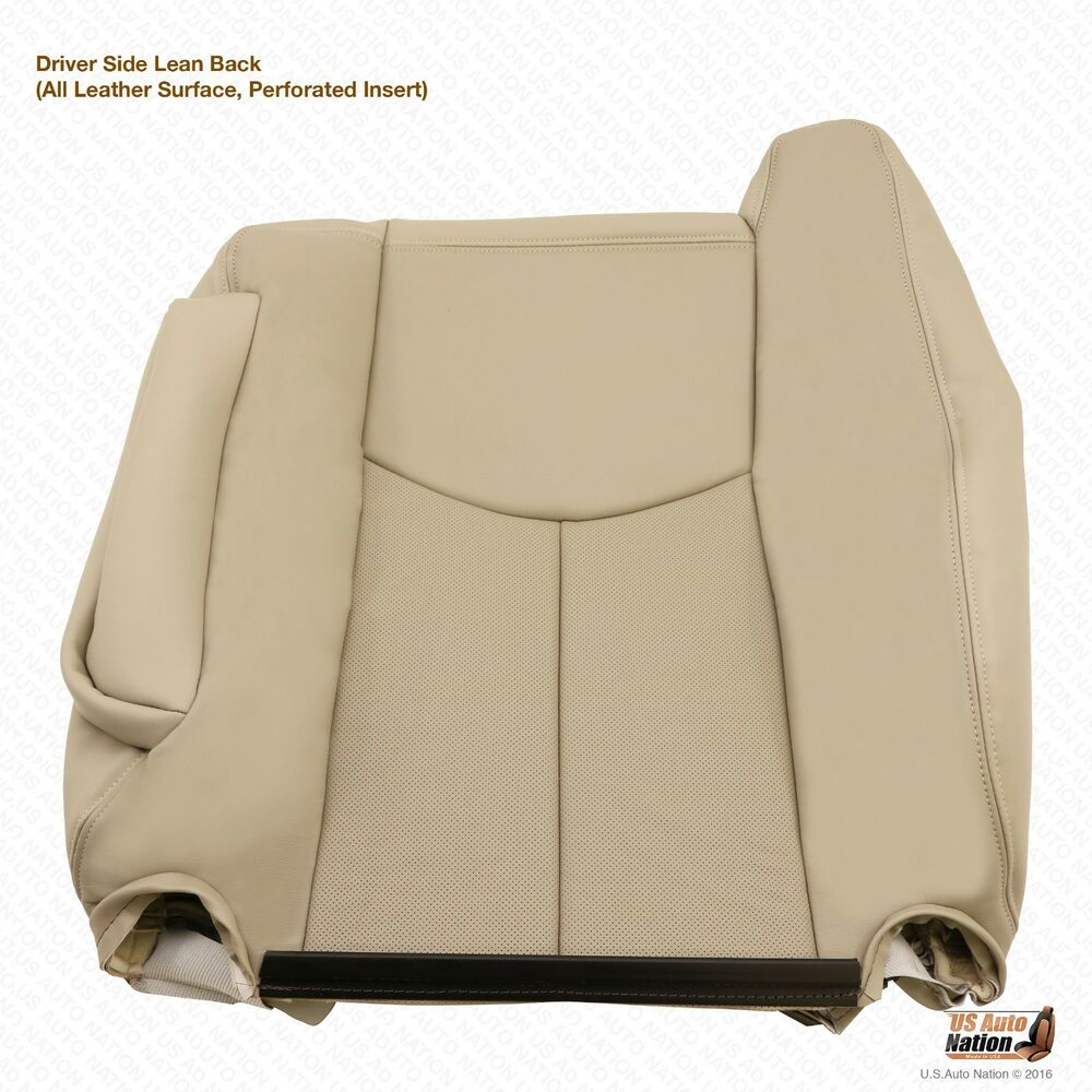 2003-2004 Cadillac Escalade Driver Lean Back Leather Seat