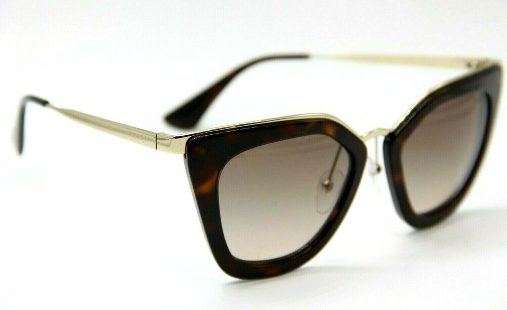0002083dc4 Details about NEW AUTHENTIC PRADA PR 53S 2AU-3D0 GOLD GRADIENT PR53S  SUNGLASSES 52-21