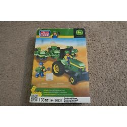 Kyпить MEGA BLOKS  John Deere Farm Tractor and Mower  80831  на еВаy.соm
