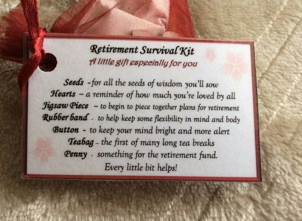 retirement survival kit funny | just b.CAUSE