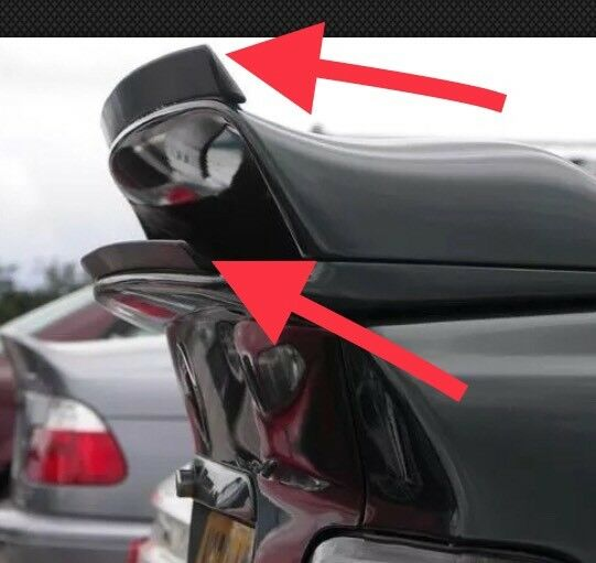 bmw e36 class 2 ii flaps heckspoiler heckfl gel spoiler. Black Bedroom Furniture Sets. Home Design Ideas