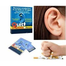 Ear Magnet Quit Stop Smoking Cigarettes Magnetic Ear Acupressure Weight Loss