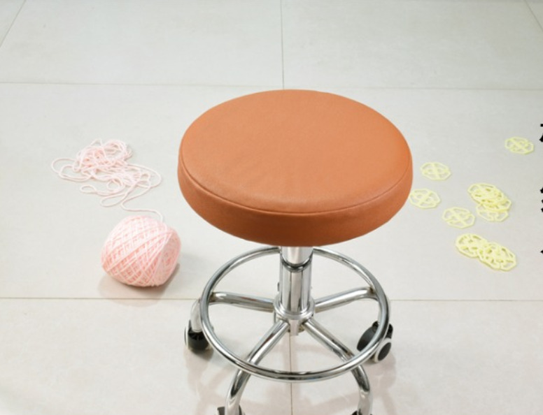 """1Pc 14"""" Bar Stool Cover Round Chair Seat Cover Sleeve PU"""