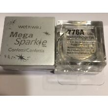 2 New WET n WILD Mega Shimmer Sparkle Confetti - 776A lilac Frosting