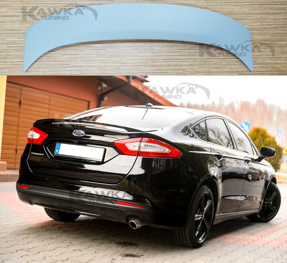ford mondeo v mk5 fusion hatchback rear boot trunk spoiler. Black Bedroom Furniture Sets. Home Design Ideas