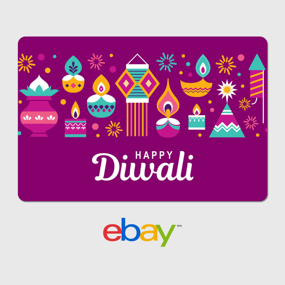 Ebay Digital Gift Card: EBay Digital Gift Card - Happy Diwali - Email Delivery