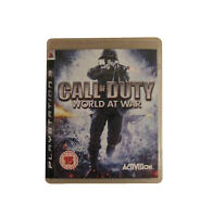 3 X PS3 Games Call Of Duty World At War, Call Of Duty 3 & Modern Warfare