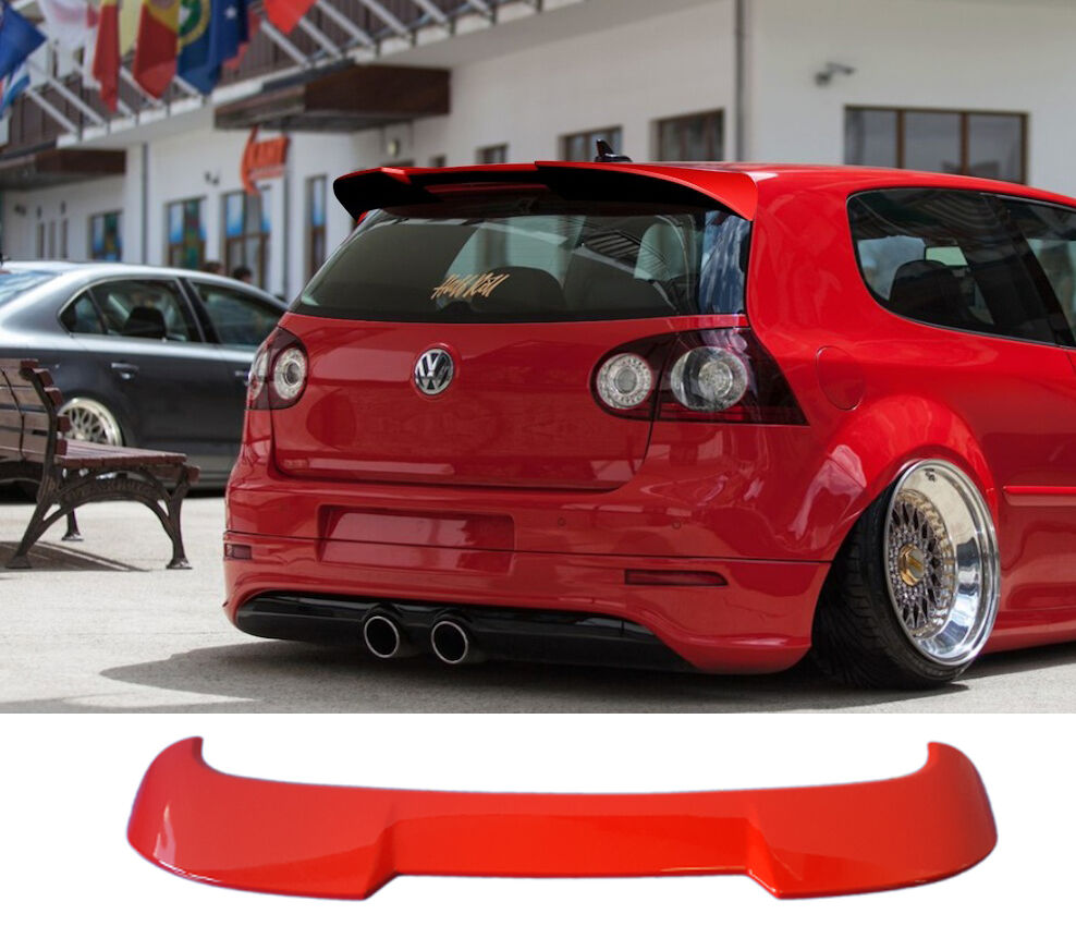 rear spoiler vw golf 5 mk5 r32 gti ebay. Black Bedroom Furniture Sets. Home Design Ideas