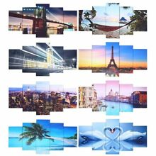 5-Panel  Modern Canvas Home Wall Decor Art Painting Picture Print Framed 39
