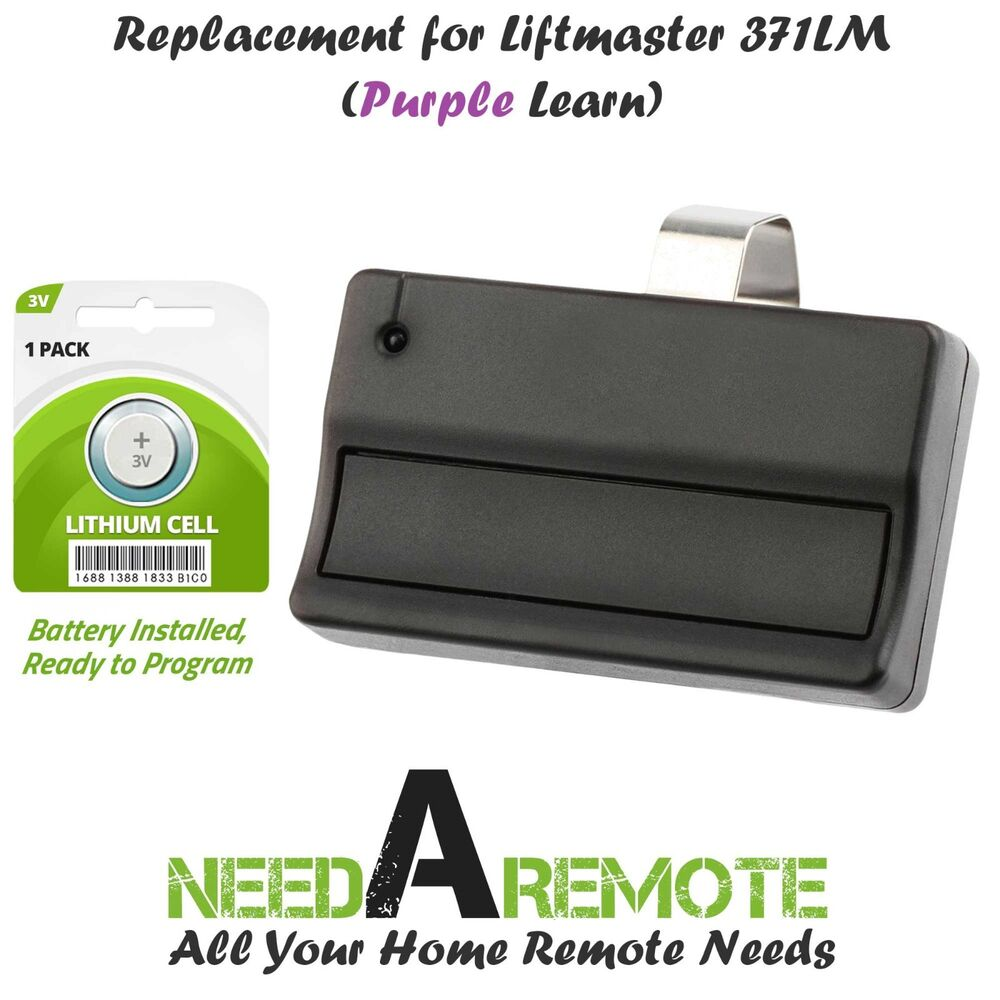Replacement For Liftmaster 371lm Car Garage Door Remote