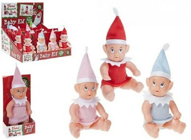 Elf Baby Elf Sits On The Shelf For Christmas Accessory